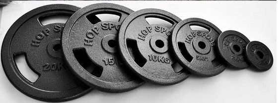 Custom Iron Weight Plates , Cast Iron Olympic Weight Plates Fit Build Muscle